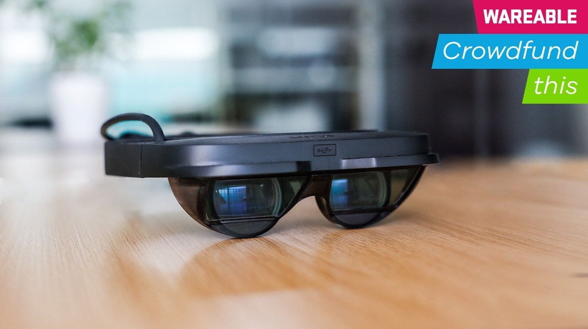 ANTVR's glasses let you overlay SteamVR games on your reality